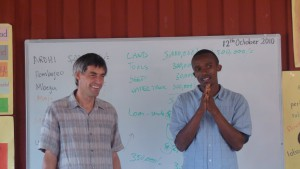 Teaching Business in Tanzania